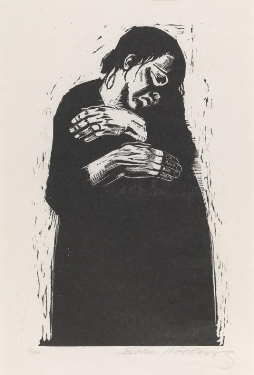 The Widow I 1921-2 K?the Kollwitz 1867-1945