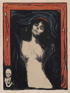 Edward Munch_Madonna_litografi_nevart