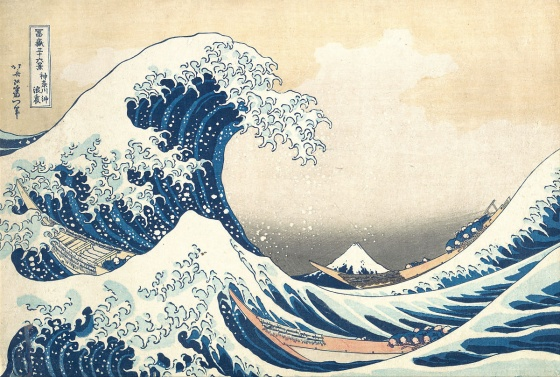 Hokusai_The Great Wave off the Coast of Kanagawa_nevartakademi